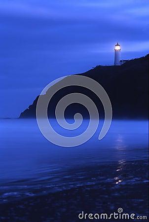 North Head Lighthouse at Dusk