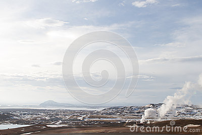 North Iceland landscape