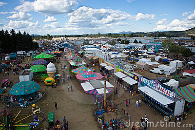 North Idaho Fair Editorial Image