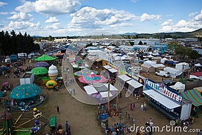 North Idaho Fair Editorial Image