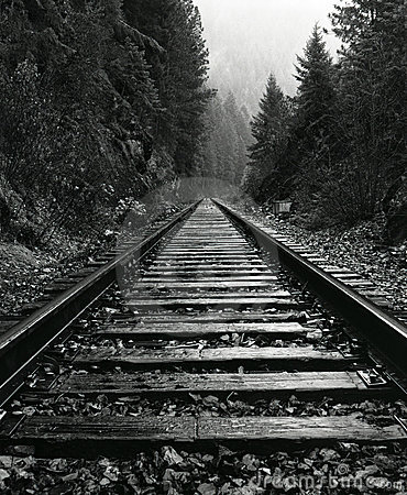 North Idaho Train Tracks Royalty Free Stock Images - Image ...