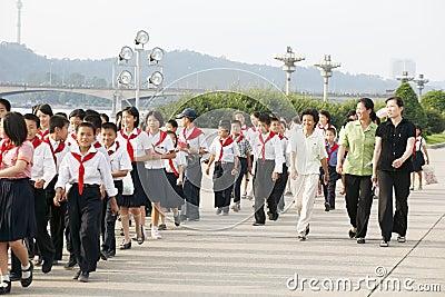 North korea 2011 Editorial Image