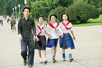 North korea 2011 Editorial Stock Photo