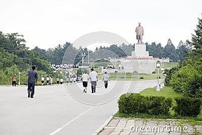 North korea 2011 Editorial Stock Photo