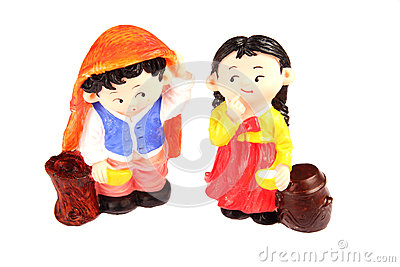 North Korea dolls