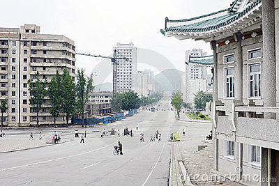 North Korea Kaesong 2011 Editorial Photo