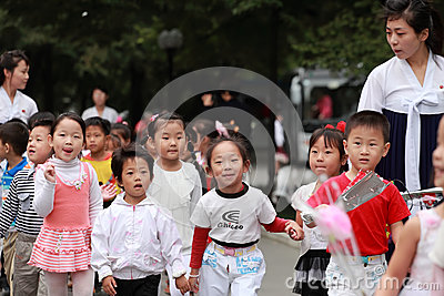 North Korea s children 2013 Editorial Image