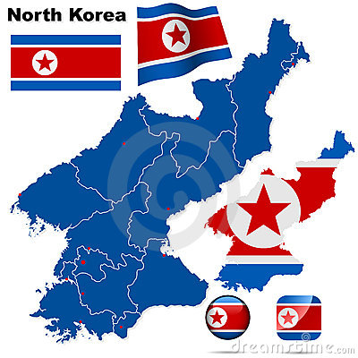 North Korea set.