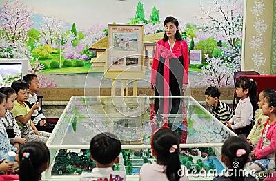 North Korean kindergarten 2013 Editorial Stock Image