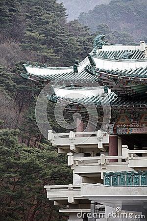 North Korean traditional building
