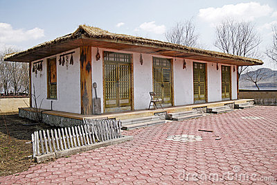 North Korean traditional house