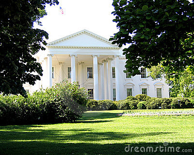North Lawn of White House