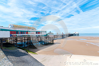 North Pier in Blackpool Editorial Stock Photo