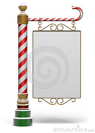 Free North Pole Sign Stock Photo - 26138450