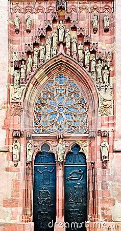 North Portal, Dom Sankt Bartholomäus