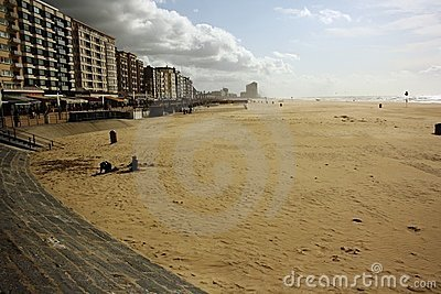 North Sea resort (Oostende, Belgium)