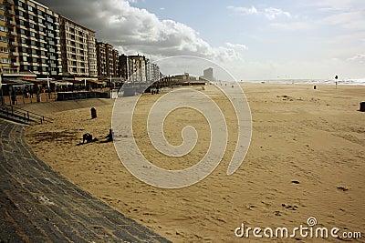 North Sea resort (Oostende, Belgium)