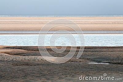 North Sea and sand banks