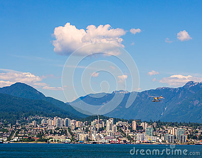 North Shore Vancouver Editorial Photo