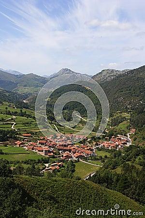North spanish village