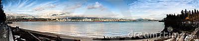 North Vancouver Shoreline Panorama