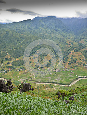 North Vietnam Landscape
