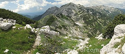 North view from Vogel - Triglav national park