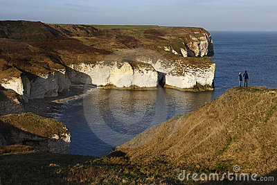 North Yorkshire coast in the UK Editorial Photography