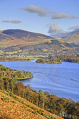 Free Northern Derwent Water And Keswick Stock Images - 8004584