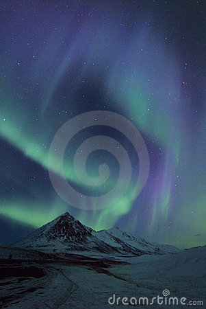 Free Northern Lights Royalty Free Stock Photo - 12468055