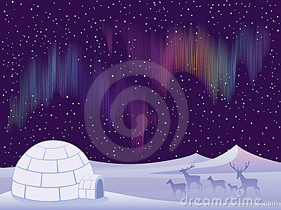 Northern Lights Royalty Free Stock Image - Image: 17154786