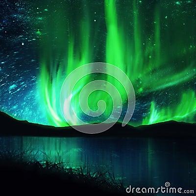Northern lights ,aurora