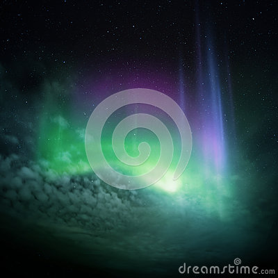 Free Northern Lights (Aurora) Royalty Free Stock Photo - 28970025