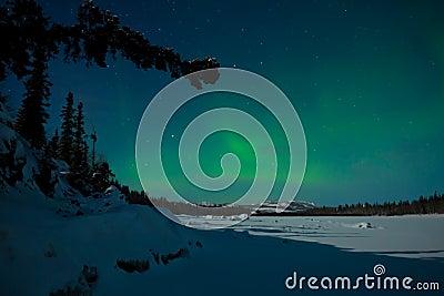 Aurora Borealis on Northern Lights  Aurora Borealis  Royalty Free Stock Photos   Image