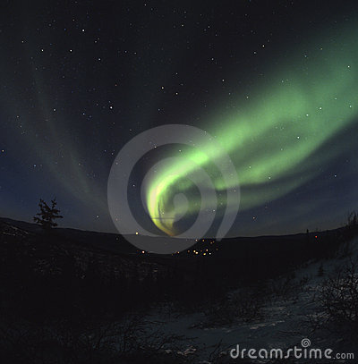 Free Northern Lights Display Stock Photo - 2066790