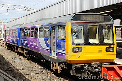 Northern Rail train Editorial Photo
