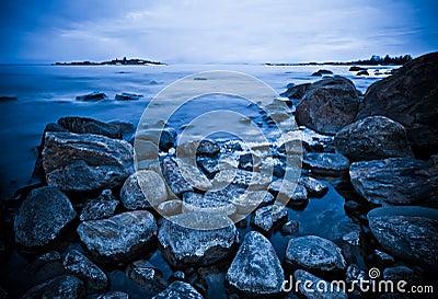 Northern shoreline