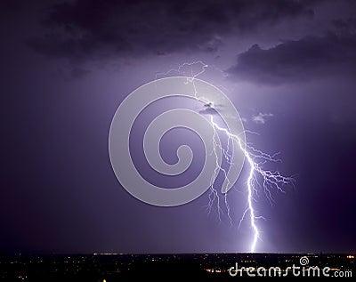 Northwest Tucson Lightning
