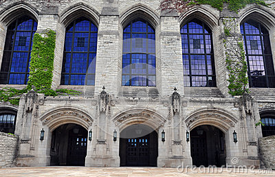 Northwestern University Campus - building detail