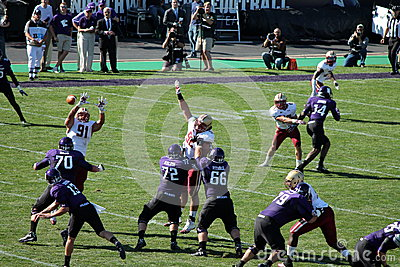 Northwestern Wildcats football Editorial Stock Photo