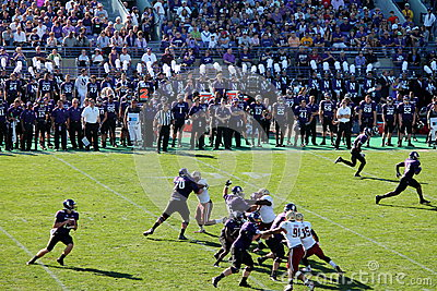 Northwestern Wildcats football Editorial Stock Photo