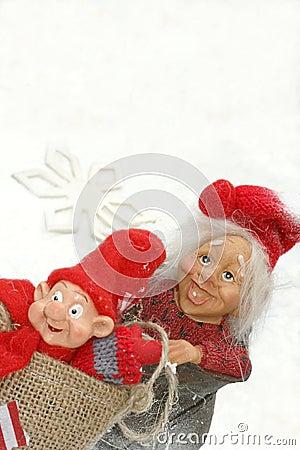 Norvegian winter trolls