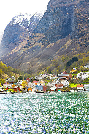 Free Norway Fjord Royalty Free Stock Photography - 14393107