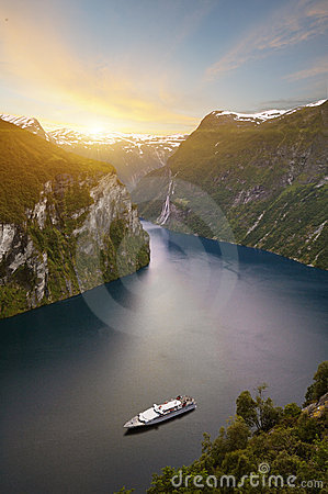 Free Norway Fjord Royalty Free Stock Image - 6293306