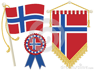 Norway flags