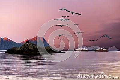 Norway, Lofoten Islands, Tours Cruises Ships