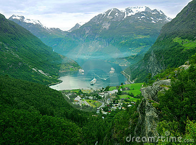 Norway mountains