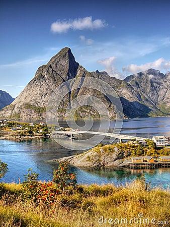 Free Norway, Nature Coast Mountain Landscape Royalty Free Stock Image - 85835686