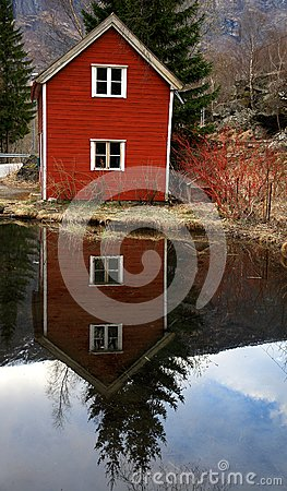 Norway rural scape
