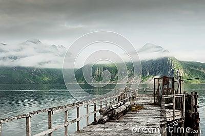 Norway scenery Stock Photo